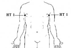 Heart Meridian point 1